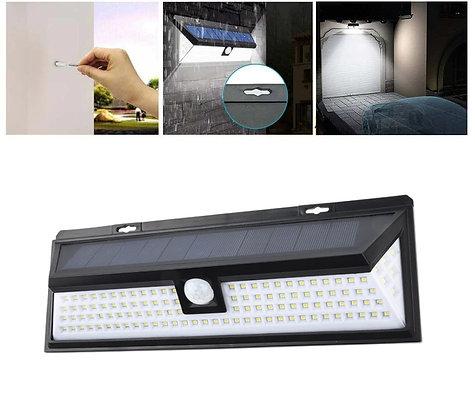Refletor Energia Solar 118 Leds 3 Modos de luz solar para jardim, decoração