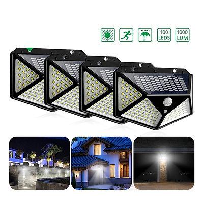 4 Pcs Super Arandela Solar ESS Ultra LED Iluminação Solar
