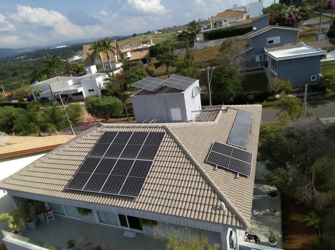 Serviço de Limpeza de Placa Fotovoltaica