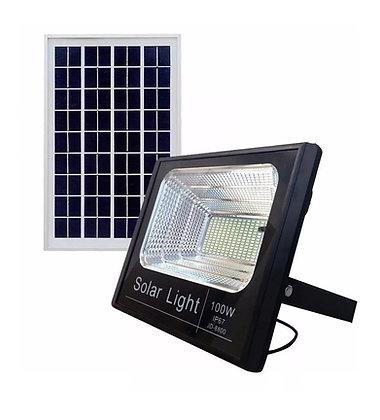 Refletor Solar 100W Impermeável LED Painel Solar Alta Eficiência