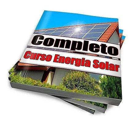 Apostilas e Manuais Curso Completo Energia Solar Fotovoltaica Passo a Passo