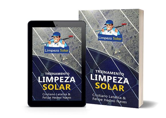 Treinamento Limpeza Solar 100% Online, Limpeza de Sistemas Solares