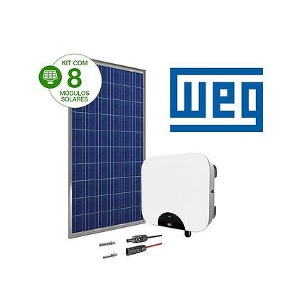 Kit Solar Fotovoltaico 2,64 kWp WEG ESS 8 Módulos
