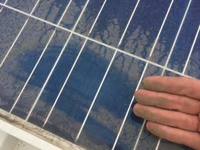 Limpeza Preventiva do Sistema Solar Fotovoltaico