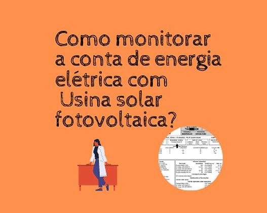 Monitore sua Fatura de Energia do Zero