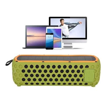 Caixa de Som À Prova D' Água Portátil Bluetooth | Energia Solar Shop