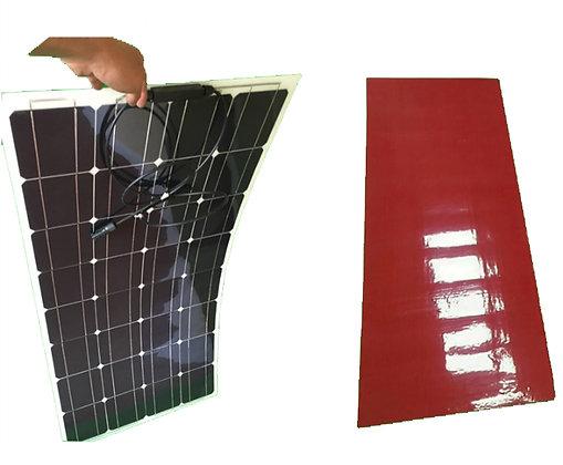 Painel Solar Flexível Com Adesivo 100 W Monocristalino