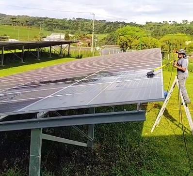 Hakken Engenharia Limpeza de Painel Solar