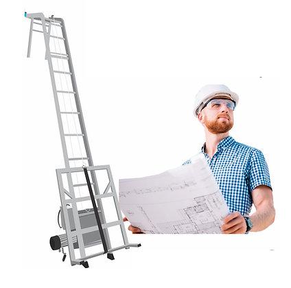 Elevador para Painel Solar Escada Elevador para Painel Solar Pronta Entrega