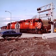 CP BALLAST TRAIN, VICTORIA B.C., 1989.JP
