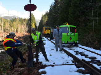 EETG Switching at Loon Lake East — MP 21.85