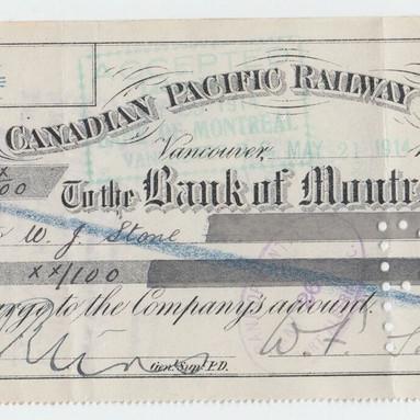 CPR E&N 1914 Cheque 2.JPG
