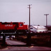 CP GP35 ON CNR INTERCHANGE, VICTORIA, B.