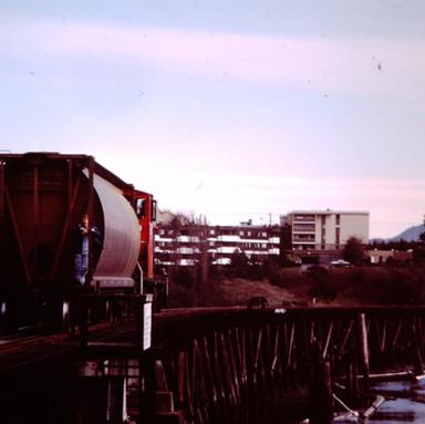 CNR ON GORGE TRESTLE, VICTORIA, B.C., 19