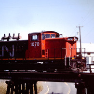 CN GMD-1 1070, VICTORIA, B.C., 1989.JPG