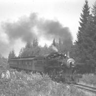 cp 447 E & N train2 Countenay BC 8-20-40