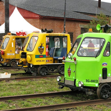 Speeder Rides for the Victoria Roundhouse Centennial