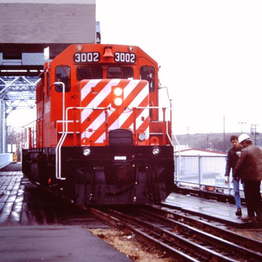 CP 3002 ON RAILWAY BRIDGE, VICTORIA, B.C