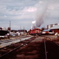 CP UNITS BLOWING SMOKE, VICTORIA, 1989.J