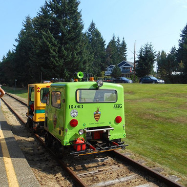 EETG Speeders at Qualicum Beach Station