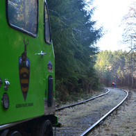 Speeder 16-003 and Loon Lake Siding