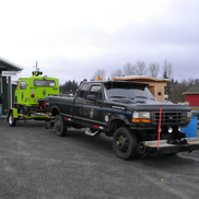 Speeder 16-003 and Hi-Rail 301 attending Coombs Family Days