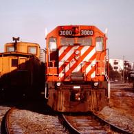 CP GP38 3000, VICTORIA B.C., 1989.JPG