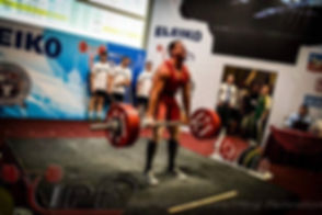 Deadlift powerlifting IPF