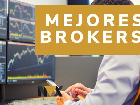 Mejores Brokers para invertir en ACCIONES – 2021