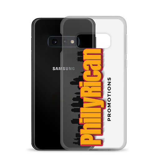 PhillyRican Promotions - Clear Samsung Case