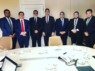 Ministro Corregedor do TST recebe representantes da ATEP