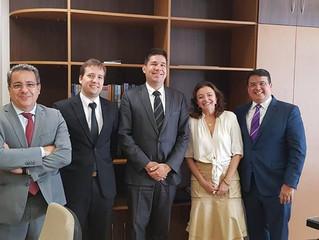 ATEP reúne com representantes do TRT