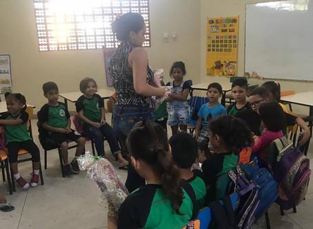 ATEP realiza visita à Escola Alda Eutrópia de Sousa