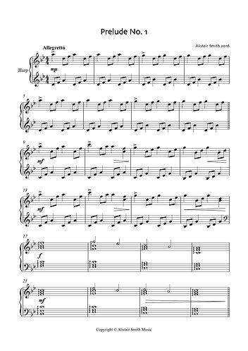 Prelude No.1 for harp