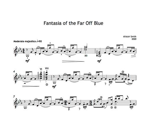Fantasia of the Far Off Blue