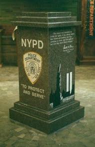 New York Police Department Headquarters, September 11 Memorial
