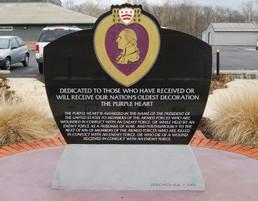 American Legion Post 199, Purple Heart Memorial