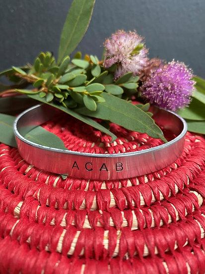 ACAB Cuff Bracelet
