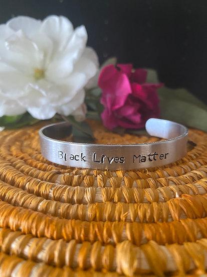 Black Lives Matter Cuff Bracelet