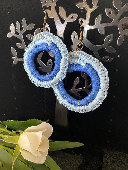 Double Blue Woven