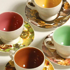 Laurie Simmons Cups and Saucers
