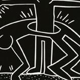 Keith Haring Subway Tile Detail