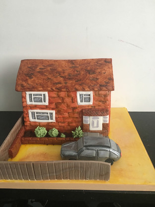 New Home Welcoming Cake