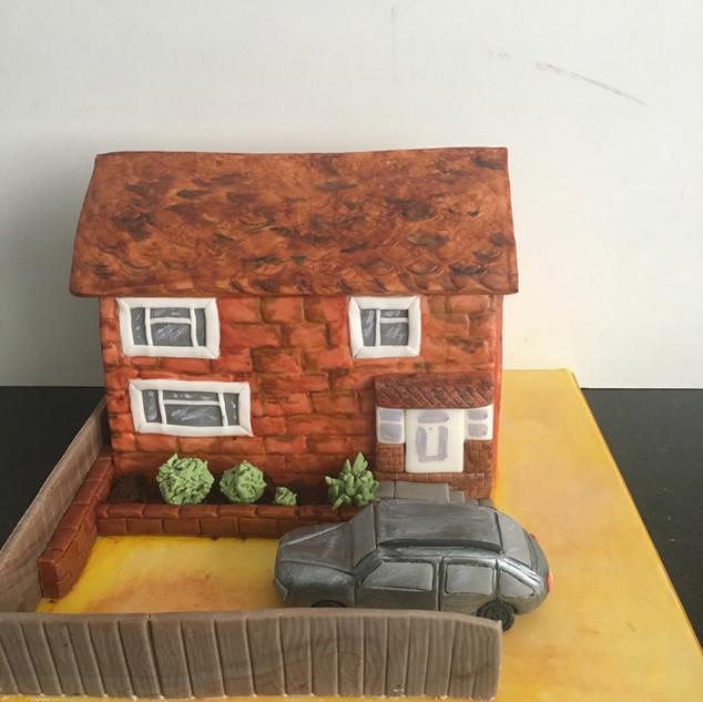 House Warming Cake