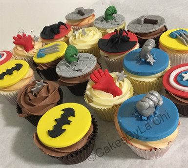 Kids themed Cupcakes