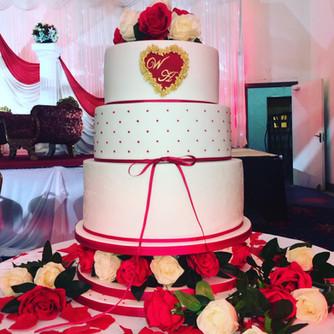 3 Tier Wedding Cake