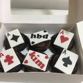 Card Player Cupcakes