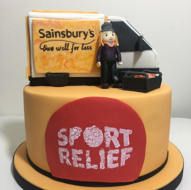 Sports Relife Charity Cake