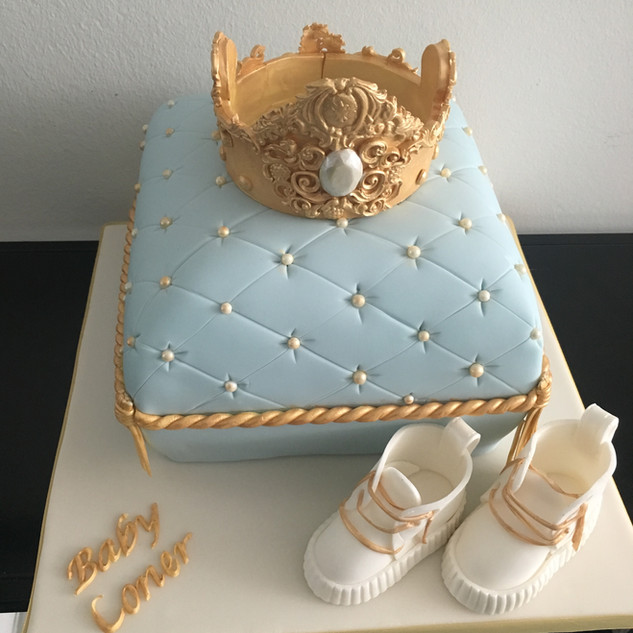 Baby Shower Cushion Cake