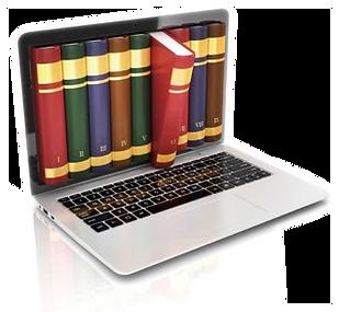 computadora, libros, trofología, trofoterapia, detox, dieta alcalina